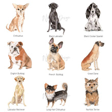 Load image into Gallery viewer, Deck Chair Dog Print - Wildfig & Co