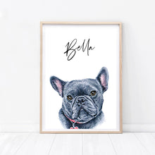 Load image into Gallery viewer, Frenchie Dog Print