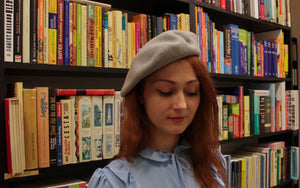Vintage french berets in various colours