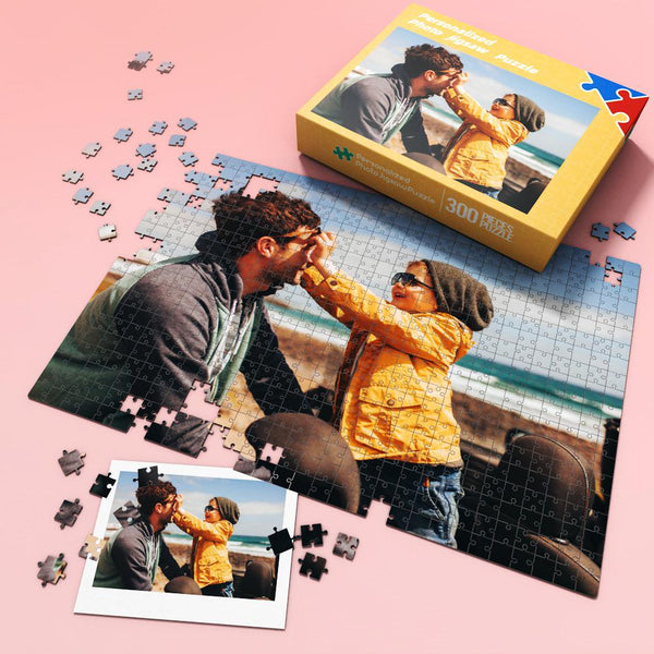 Custom Photo Jigsaw Puzzle Best Gift for Stay-at-home 35-1000 pieces | Best Dad Ever
