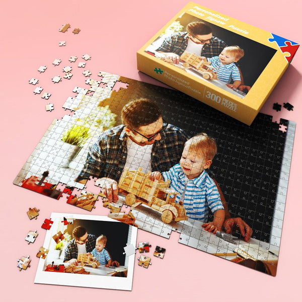 Custom Photo Jigsaw Puzzle Best Gift for Stay-at-home 35-1000 pieces | Best Gift For Dad