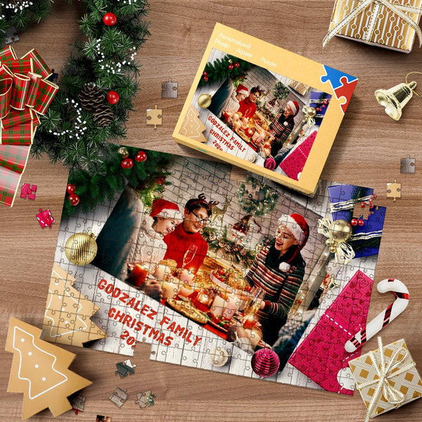 Custom Photo Jigsaw Puzzle Christmas Gifts Puzzle 35-1000pcs