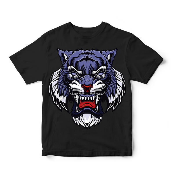 Custom Tiger Face Men's T-Shirt