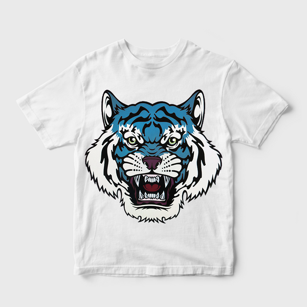 Magic Eyes Of The Tiger White T-shirt