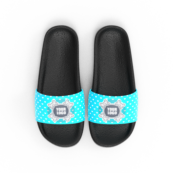 Custom Logo Photo And Text Men's Slide Sandal