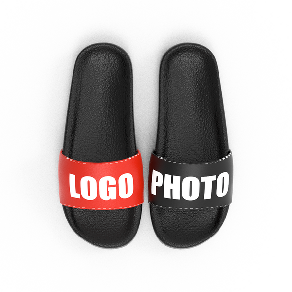 Custom Logo Photo Men's Slide Sandal