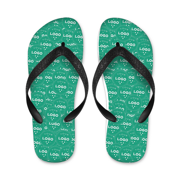 Custom Logo Photo Mash Photo Flip Flops
