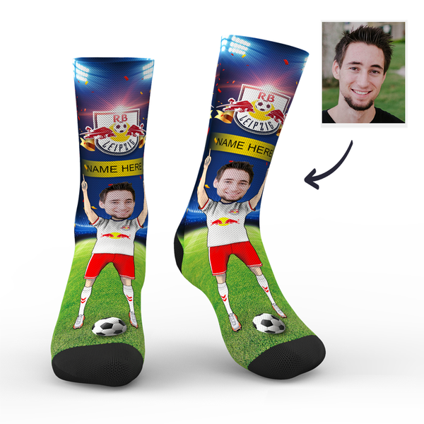Custom RBL Super Fans Face Socks | Bundesliga 2019/20 Season