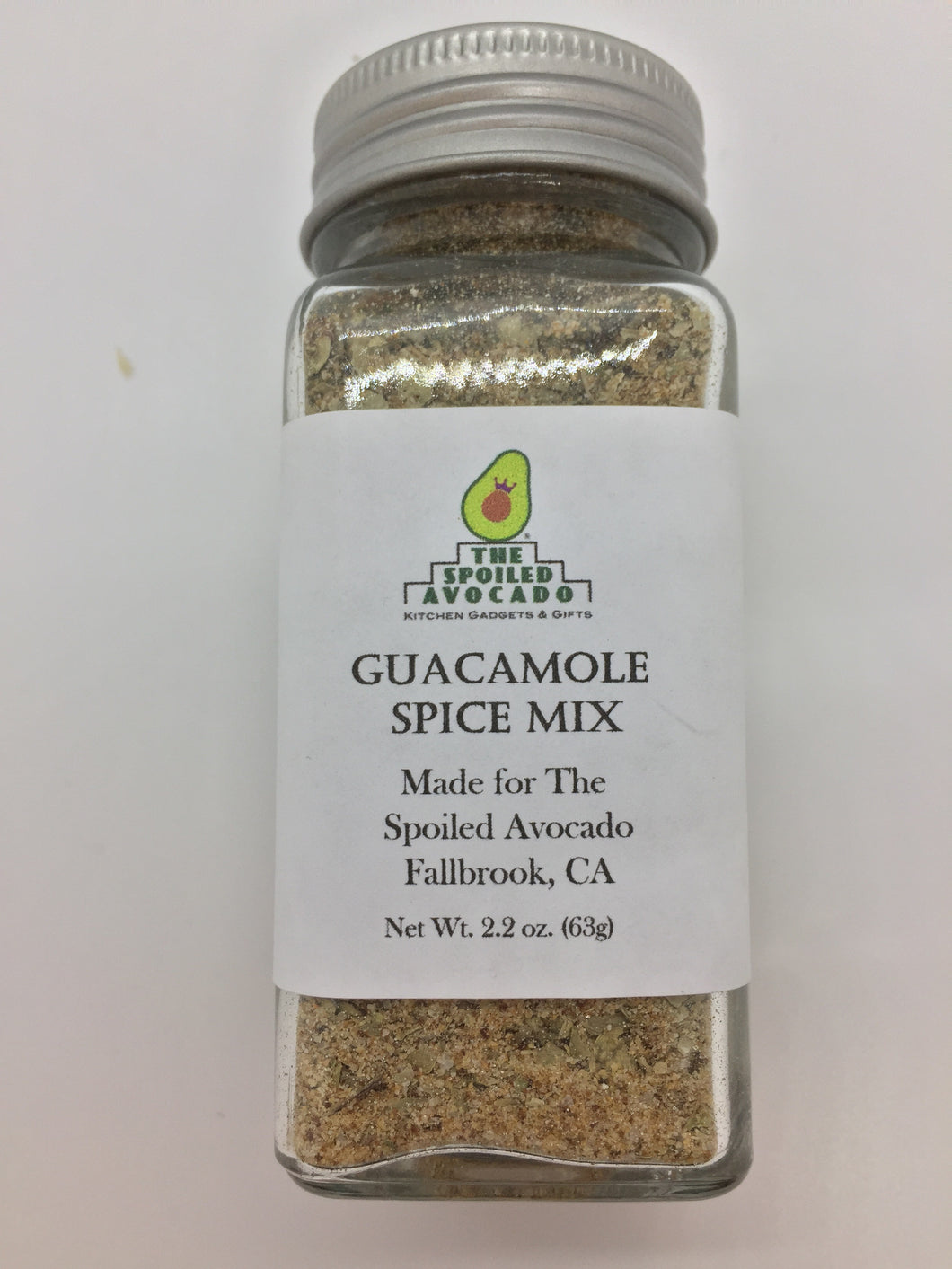 The Spoiled Avocado Guacamole Spice Mix 2.2 oz (63g)