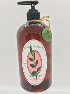 Golden Goddess Royally Rich Avo Hand Wash, Pomegranate or Pink Grapefruit