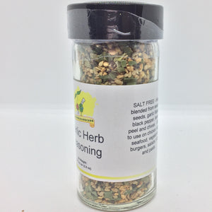 Garlic Herb Seasoning, Salt Free, 2.5 oz