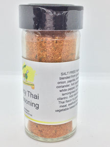 Spicy Thai Seasoning, Salt Free, 3.0 oz