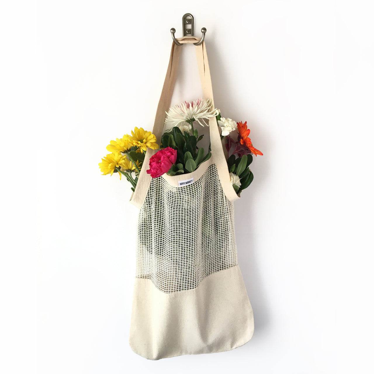 Organic Cotton Produce Bag with Canvas