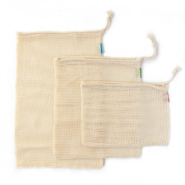 Cotton Produce Mesh Bags