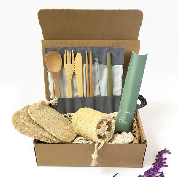Zero Waste Starter Kit | Sustainable Eco Friendly Kit or Gift