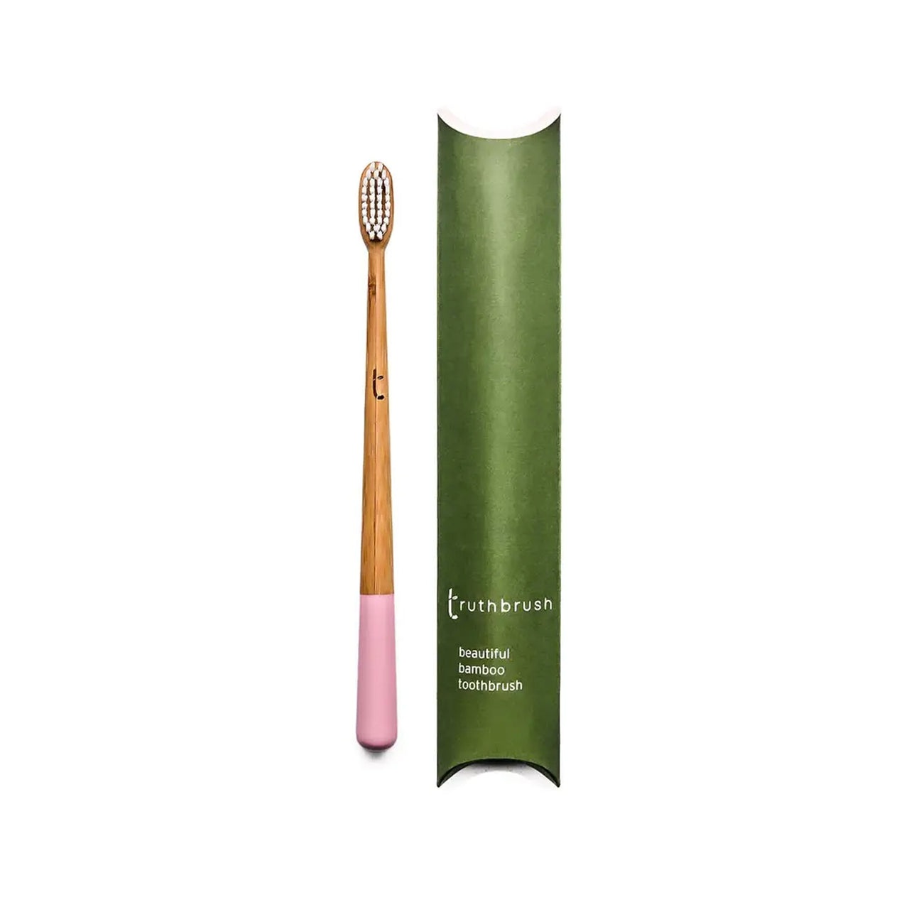 Adult Bristle Truthbrush - Medium Petal Pink