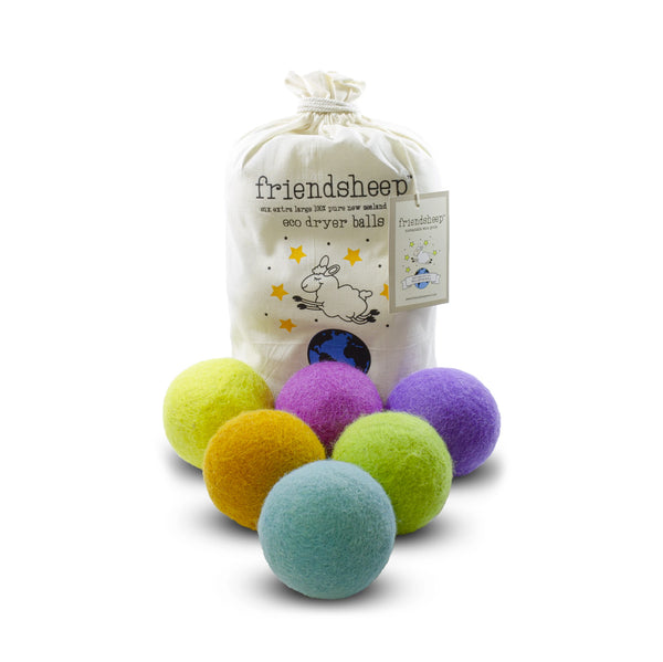 Wool Dryer Balls - Rainbow Blast