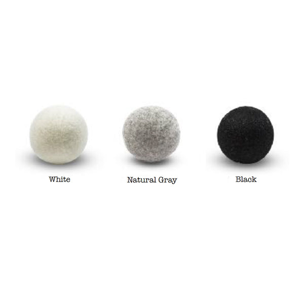 Organic Wool Dryer Balls - Single Neutral Colors