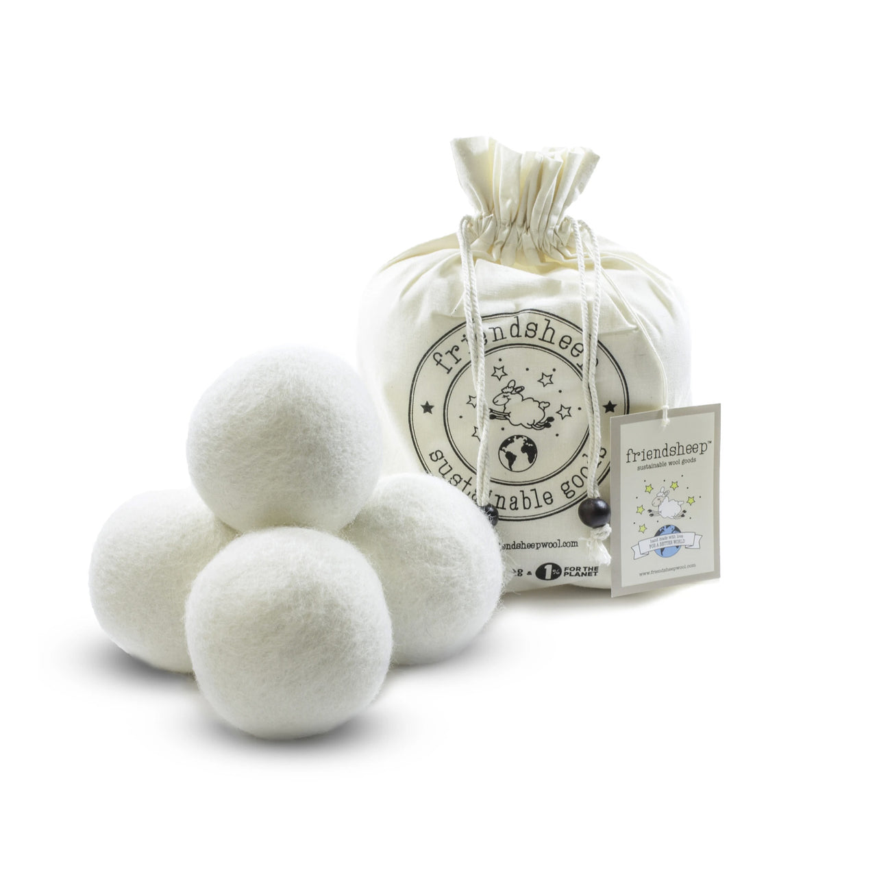 Zero White Eco Dryer Balls