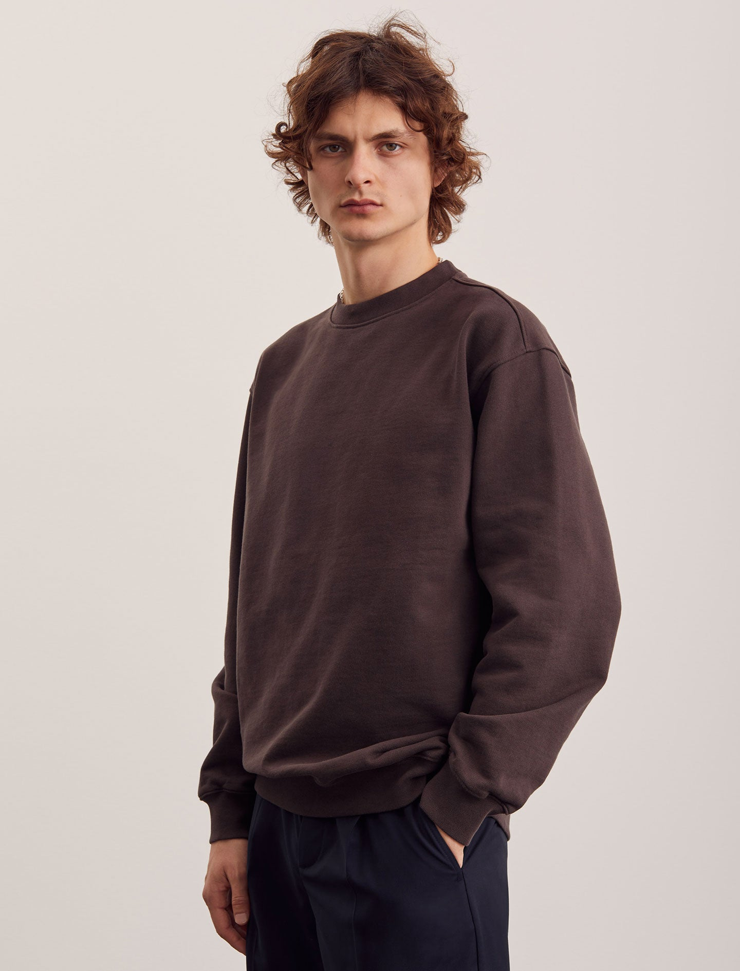 ANOTHER Sweatshirt 1.0, Antique Brown