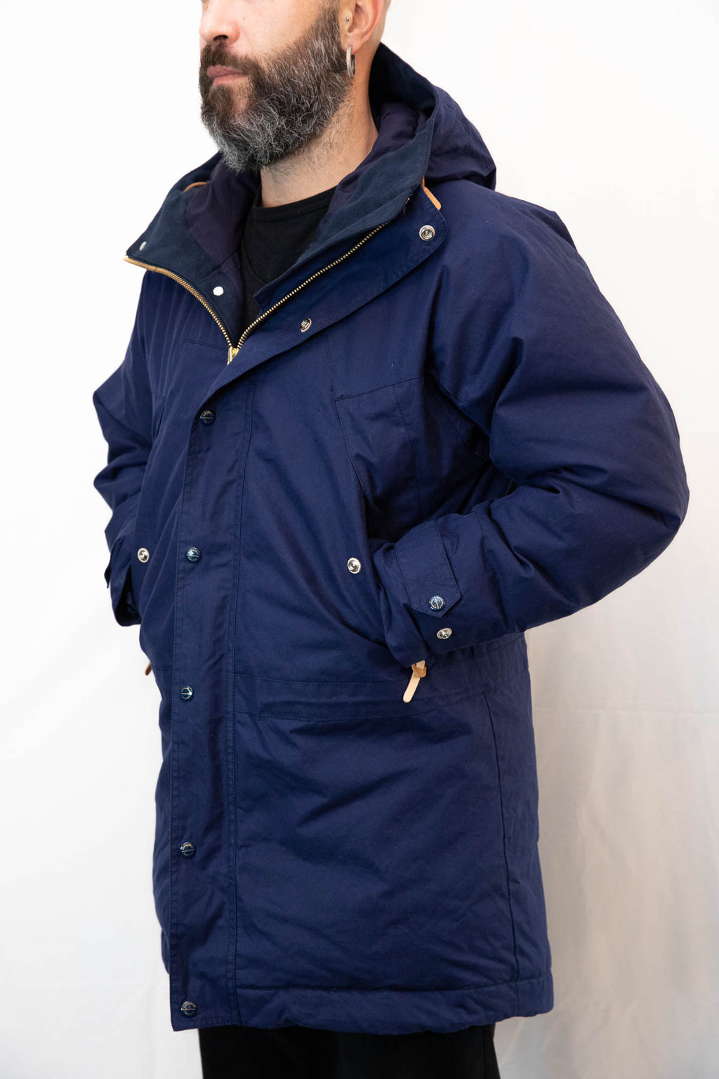 Mountain jacket lunga