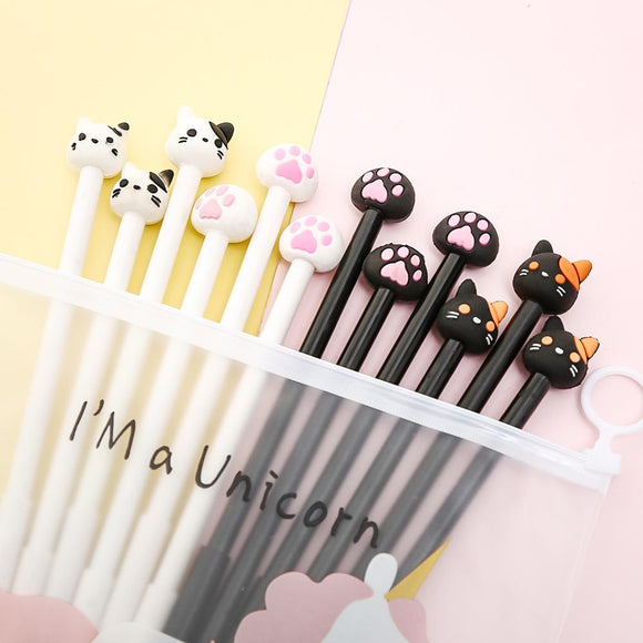 Cute Cat Pen Set- 12pcs