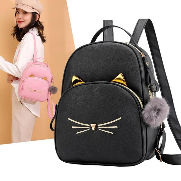 Chic Cat Backpack