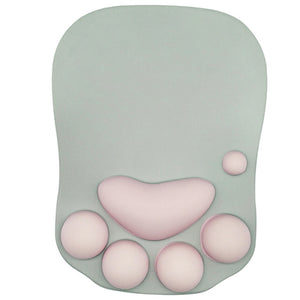 3D Paw Mousepad With Wrist Cushion