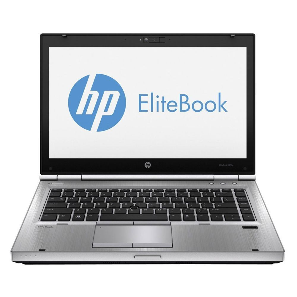 "HP Elitebook 8470p Intel i5 2.6GHz 8GB Ram 500GB HD DVDRW WEBCAM 14"" Win 10 Pro"
