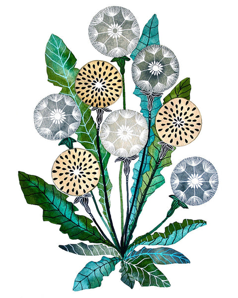 Dandelion Bundle Art Print