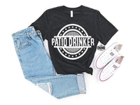 Patio Drinker graphic tee