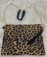 Oversized wristlet/crossbody
