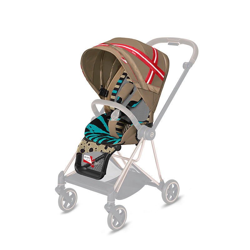 Cybex Mios 2 Stroller with Seat Pack One Love - Multicolor - Babybuggystore