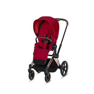 Cybex ePriam Stroller - Rose Gold Frame With Seat - Babybuggystore