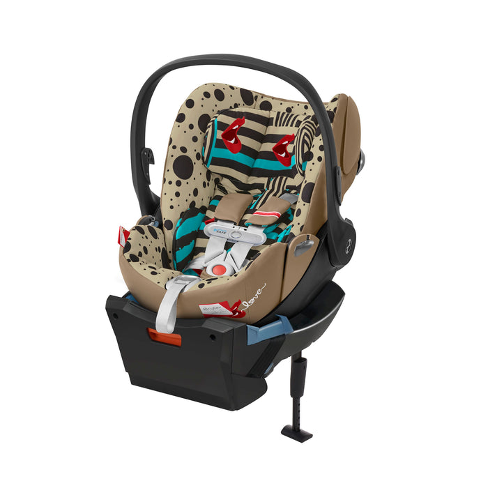 Cybex Cloud Q Plus Car Seat SensorSafe One Love - Multicolor - Babybuggystore