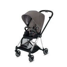 Load image into Gallery viewer, Cybex Mios 2 Stroller - Chrome / Black Frame With Seat - Babybuggystore