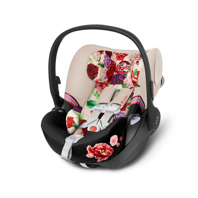 Cybex Cloud Q SensorSafe Spring Blossom - Light Beige - Babybuggystore