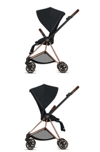 Load image into Gallery viewer, Cybex Mios 2 Stroller Chrome/Black Frame + Premium Black Seat