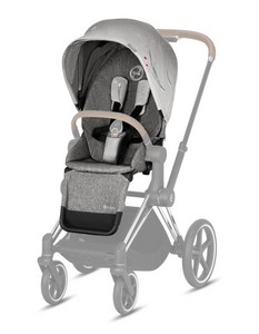 Cybex Priam 3 Seat Pack Koi - Mid grey