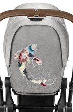 Load image into Gallery viewer, Cybex Priam 3 Seat Pack Koi - Mid grey