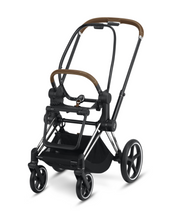 Load image into Gallery viewer, Cybex Priam 3 Stroller - Chrome / Brown Frame With Seat