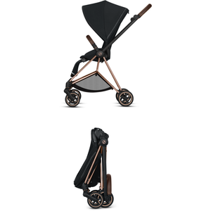 Cybex Mios 2 Stroller - Matte Black Frame With Seat - Babybuggystore