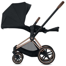 Load image into Gallery viewer, Cybex Priam 3 Stroller - Chrome / Black Frame With Seat - Babybuggystore