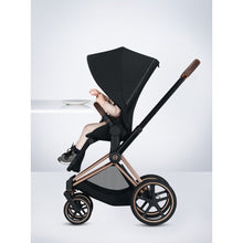 Load image into Gallery viewer, Cybex Priam 3 Stroller - Chrome / Brown Frame With Seat - Babybuggystore