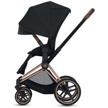 Load image into Gallery viewer, Cybex ePriam Stroller - Chrome / Black frame With Seat - Babybuggystore