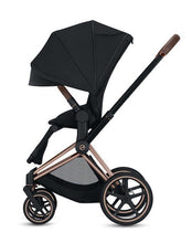 Load image into Gallery viewer, Cybex ePriam Stroller - Rose Gold Frame With Seat - Babybuggystore