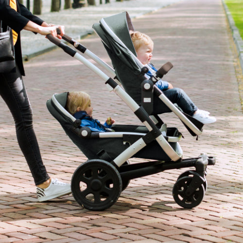 Joolz Geo² Stroller Expandable Set - Gorgeous Grey - Babybuggystore