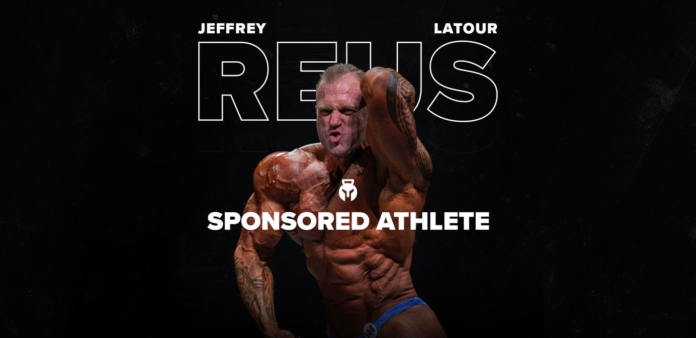 NEW ATHLETE ALERT: JEFFREY ''REUS'' LATOUR