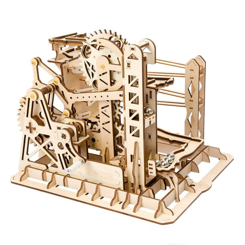 Bestsellrz® 3d Wooden Marble Run Puzzle Toy for Kids Adults - Gearun™ Model Building Kits Gearun™