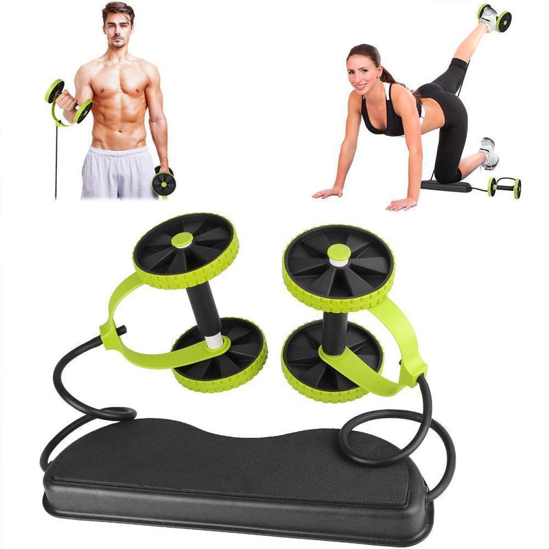 Bestsellrz® Ab Roller Workout Wheel Trainer Exercise Equipment For Home - Shapexy™ Ab Rollers Shapexy™